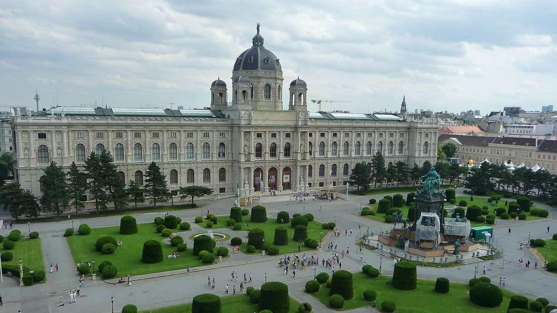Das Museumsquartier.