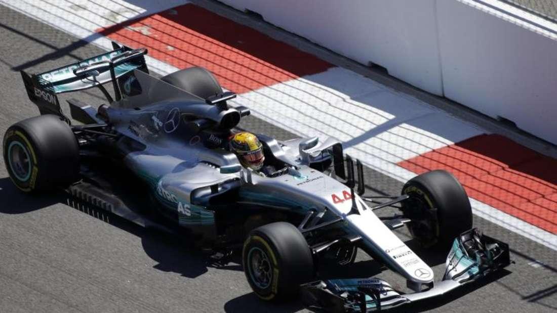 Haben Lewis Hamilton und Mercedes im Freien Training nur geblufft? Foto: Sergei Grits
