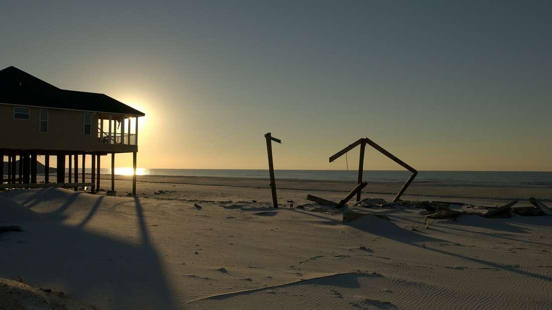 Auf demPensacola Beach inFlorida herrscht weniger Trubel als im nahen Panama City Beach.