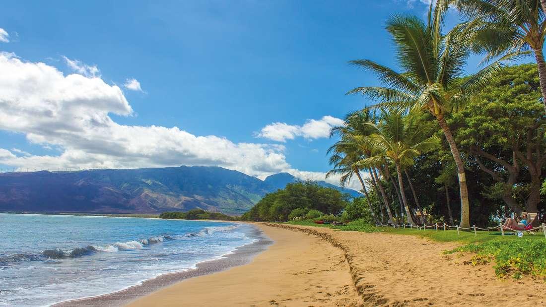 Kīhei ist ein Badeort an der Südwestküste der Insel Maui.