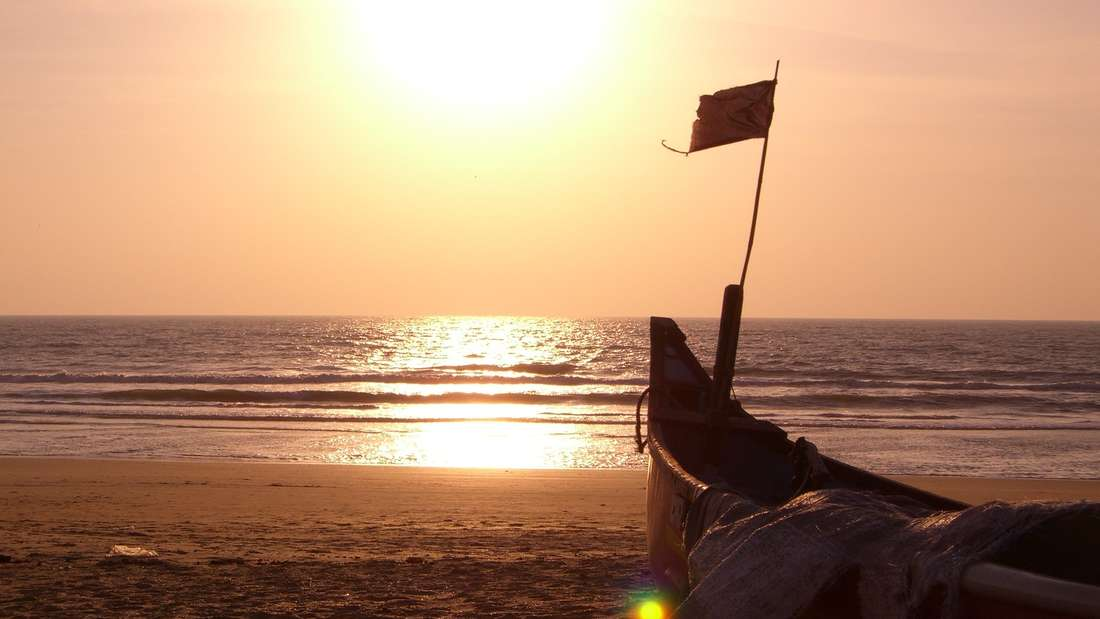 Goa ist der kleinste indische Bundesstaat - und verfügt über wahre Traumstände. Wie der Palolem Beach. Hier werden Besucher in alte Hippiezeiten zurückversetzt.