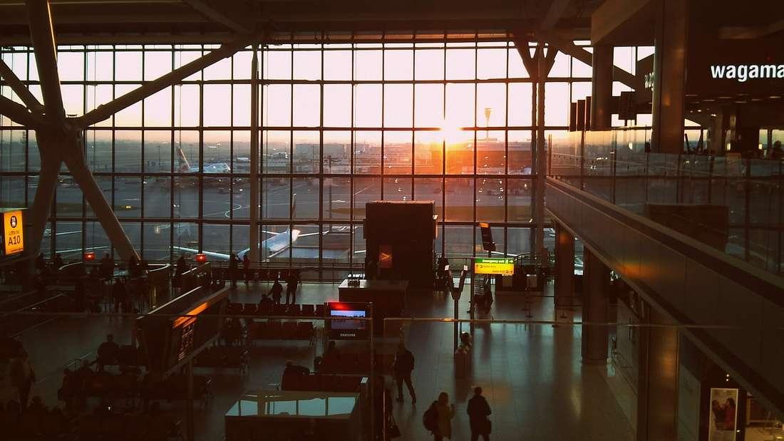 Platz 9: Der London Heathrow Airport hat das höchste Passagieraufkommen, gemessen aneuropäischen Flughäfen.