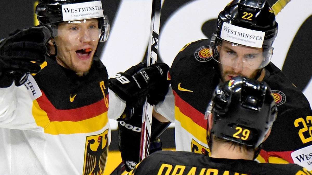 eishockey deutschland gegen lettland