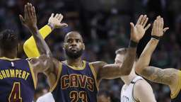 NBA-Playoffs: Cleveland mit Rekord bei Sieg in Boston
