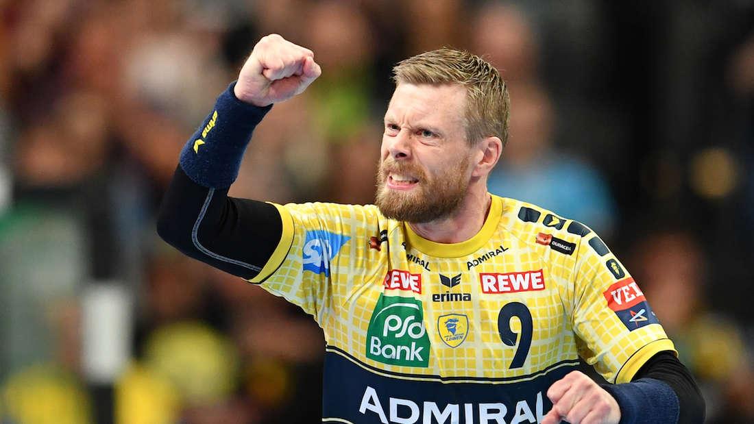 Gudjon Valur Sigurdsson hat sieben Tore geworfen.