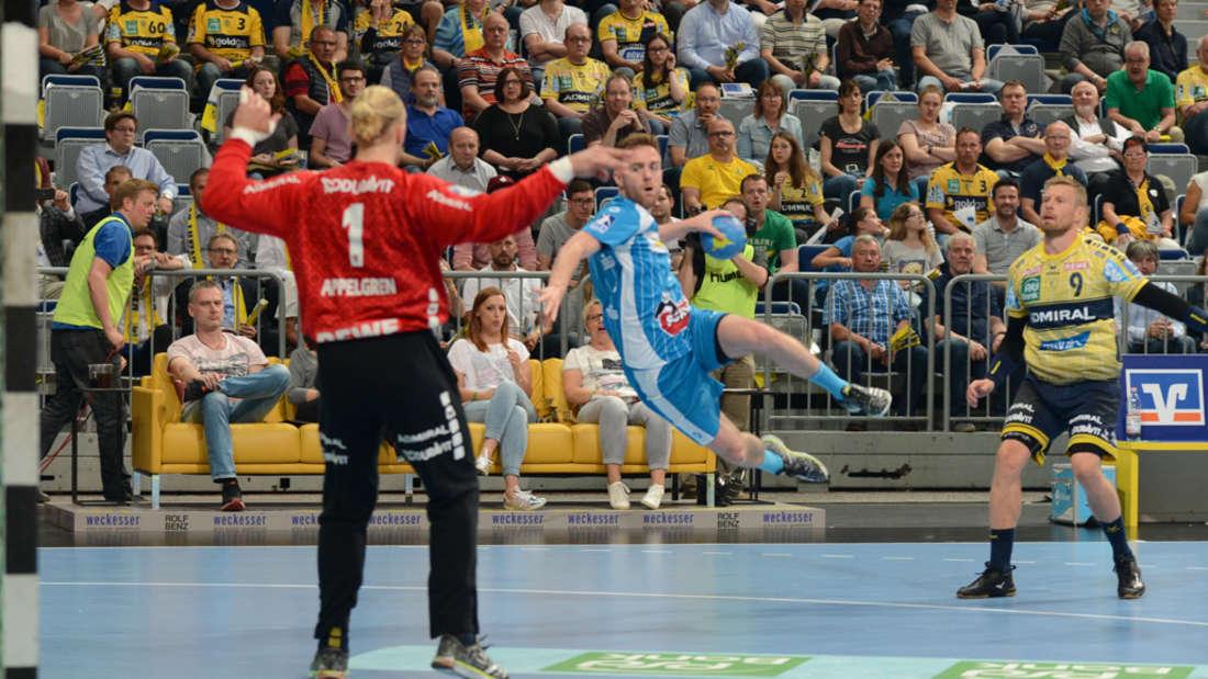 Rhein-Neckar Löwen gewinnen Heimspiel gegen den TVB Stuttgart.