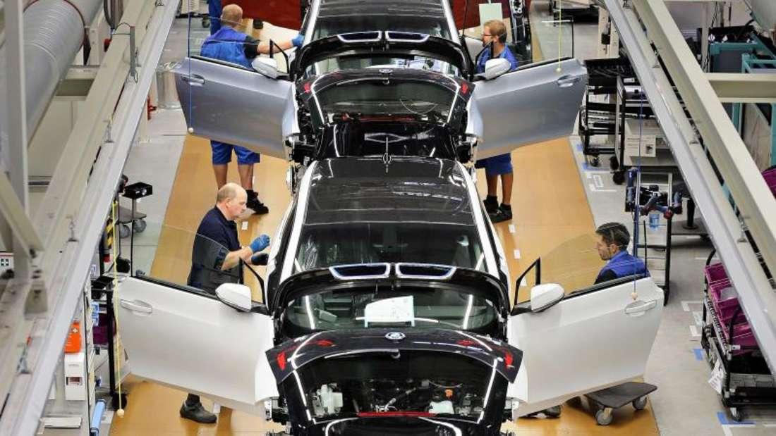 Platz 2: Autoindustrie (86 Prozent)