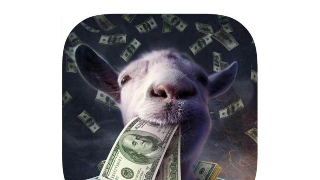 Als Ziege können Spieler ihrer Zerstörungswut freien Lauf lassen. Foto: App-Store von Apple