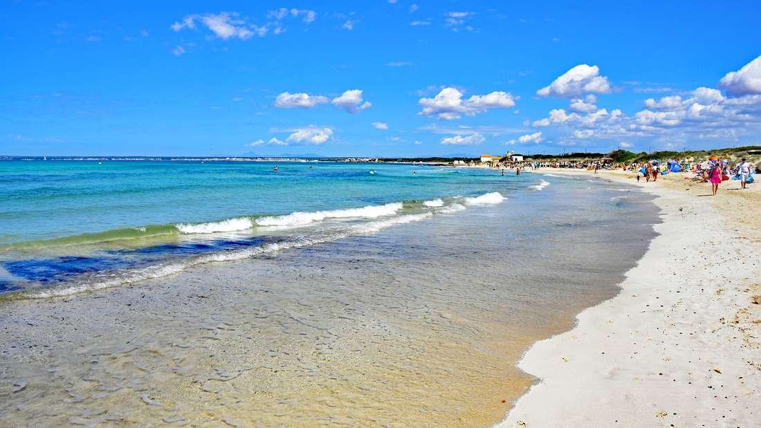 Playa es Trenc: Naturstrand sorgt für Karibik-Feeling.