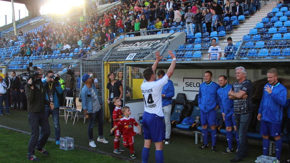 Im Carl-Benz-Stadion: Abschiedsspiel von Hanno Balitsch.