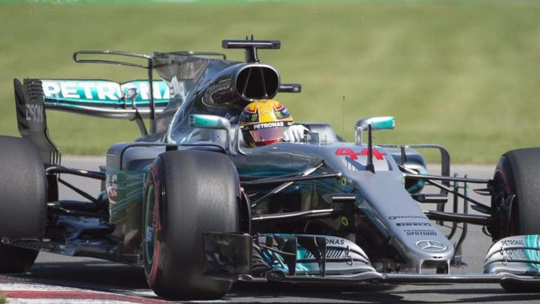 Lewis Hamilton startet in Kanada von der Pole-Position. Foto: Graham Hughes