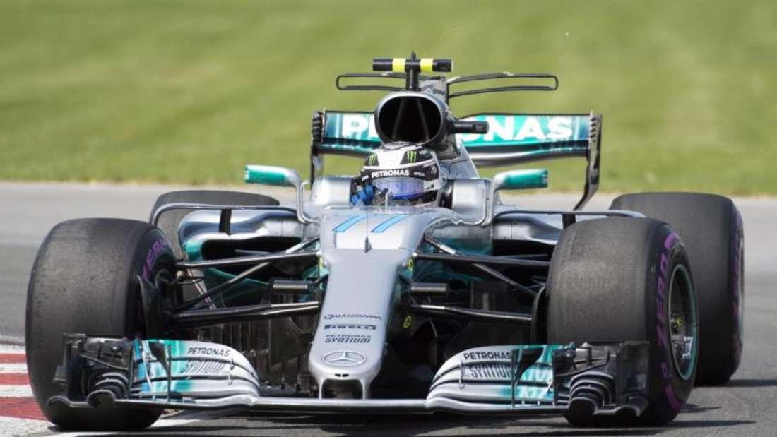 Valtteri Bottas machte den ersten Doppelsieg für Mercedes in dieser Saison perfekt. Foto: Graham Hughes