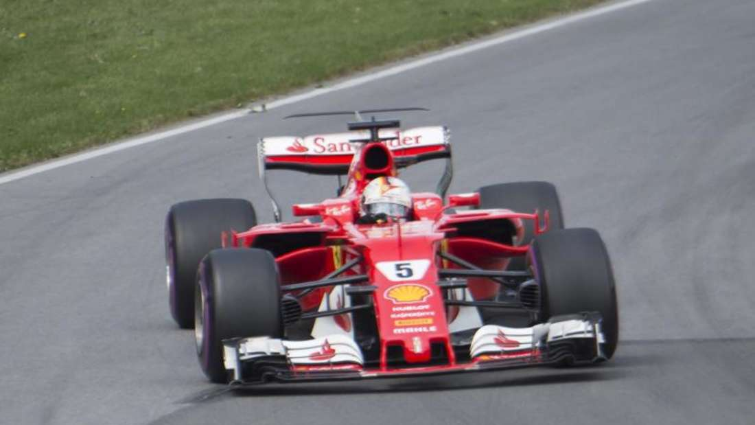 Am Ende erkämpfte sich Sebastian Vettel Platz vier. Foto: Ryan Remiorz