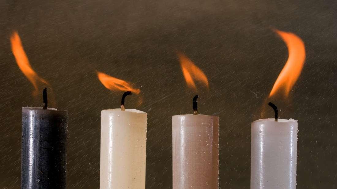 Für Kerzen wird der Sommer zum Problem: Befinden sie sich bei heißen Temperaturen unter dem Dach können sie schlimmstenfalls schmelzen und andere empfindsame Gegenstände, die sich auf dem Speicher befinden, in Mitleidenschaft ziehen.