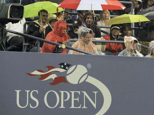 Regen in New York: Geduldsprobe für Tennisprofis