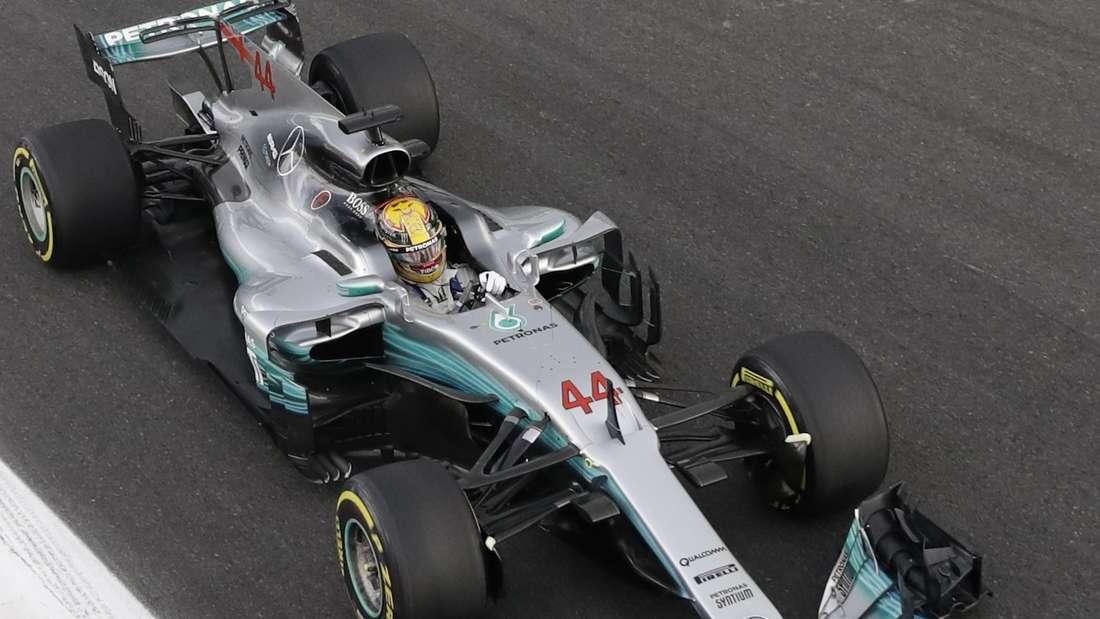 Der Silberpfeil wird seinem Namen in Monza gerecht.