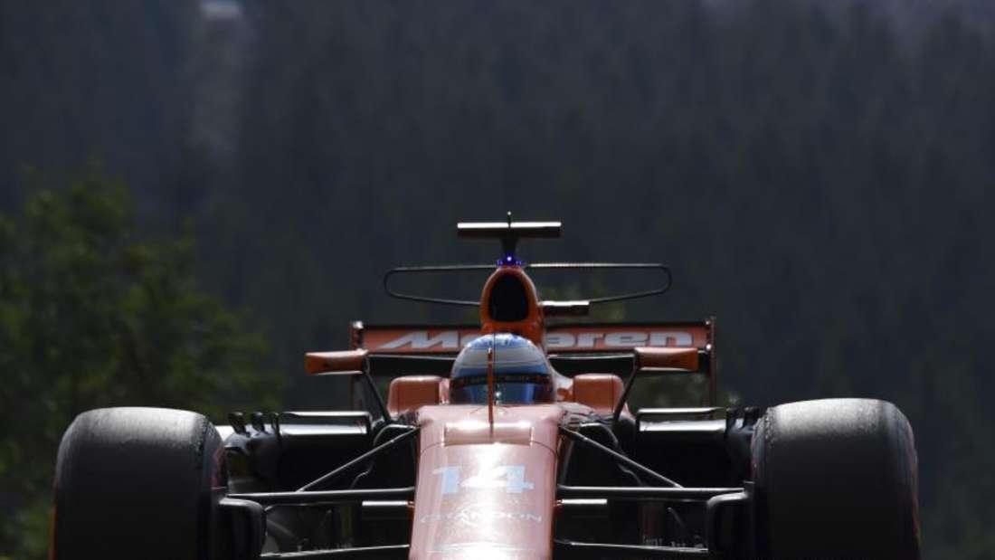 Fernando Alonso fährt seit drei Jahren für McLaren Honda. Foto: Geert Vanden Wijngaert