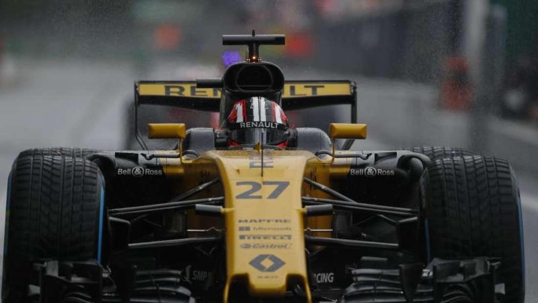 Nico Hülkenberg wurde wegen eines Regelverstoßes für das Rennen in Monza zehn Plätze nach hinten versetzt. Foto: James Gasperotti