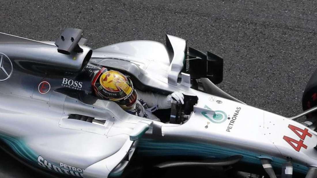 Lewis Hamilton startet in Monza von der Pole Position. Foto: Antonio Calanni