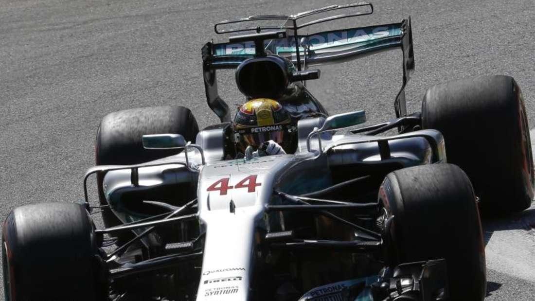 Lewis Hamilton legte beim Großen Preis von Italien einen Start-Ziel-Sieg hin. Foto:Luca Bruno