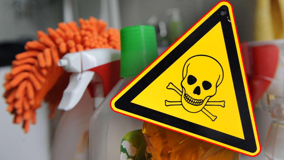 In vielen Putzmitteln sind Substanzen enthalten, die schädlich für Gesundheit und Umwelt sind.
