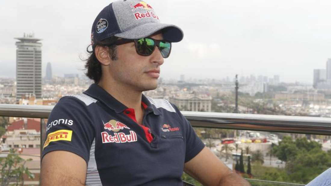 Der Spanier Carlos Sainz Junior steht laut motorsport.com vor einem Wechsel von Toro Rosso zu Reanult. Foto: Joma