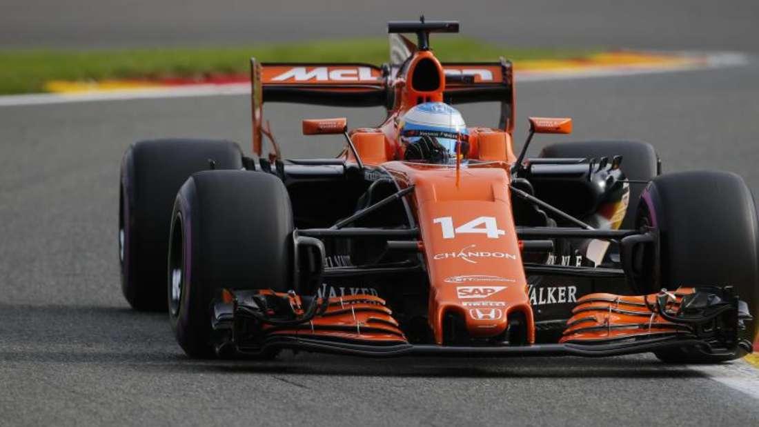 Bald Geschichte: Fernando Alonso im McLaren-Honda. Foto: James Gasperotti