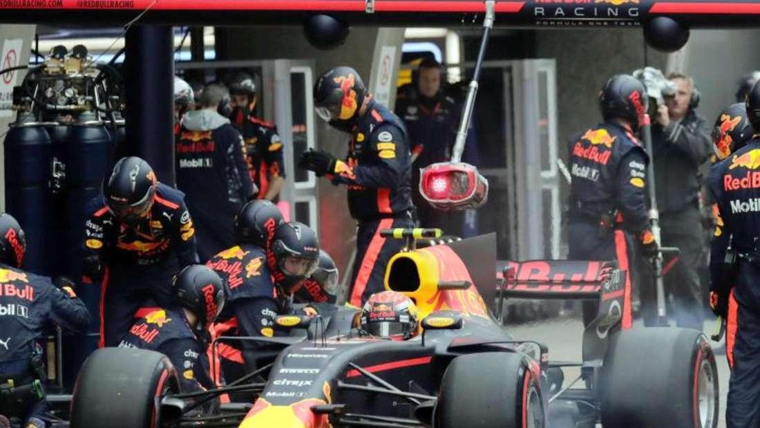 Red Bull muss sich ab 2019 einen neuen Motorenlieferanten suchen. Foto: Andy Wong
