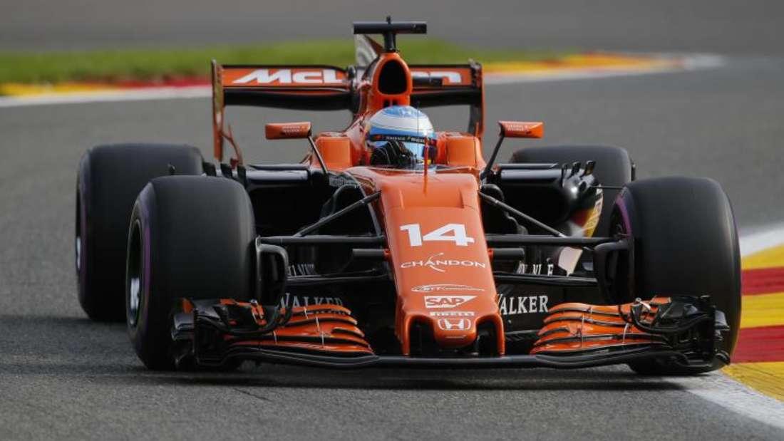 Der McLaren wird ab 2018 von einem Renault-Motor angetrieben. Foto: James Gasperotti
