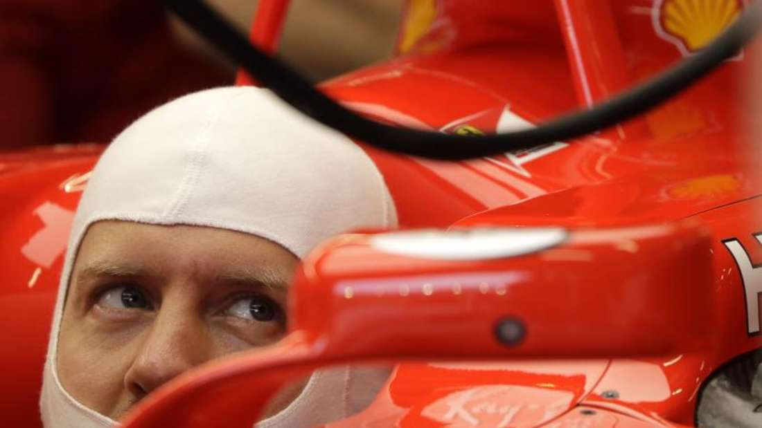 Fuhr beim Training in Singapur noch hinterher: Ferrari-Pilot Sebastian Vettel. Foto: Wong Maye-E