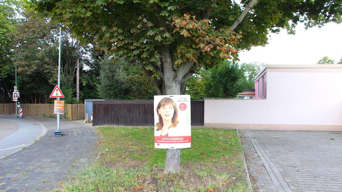 Kaum Regeln bei Plakatierung in heißer Phase für Bundestags- und OB-Wahl in Ludwigshafen.