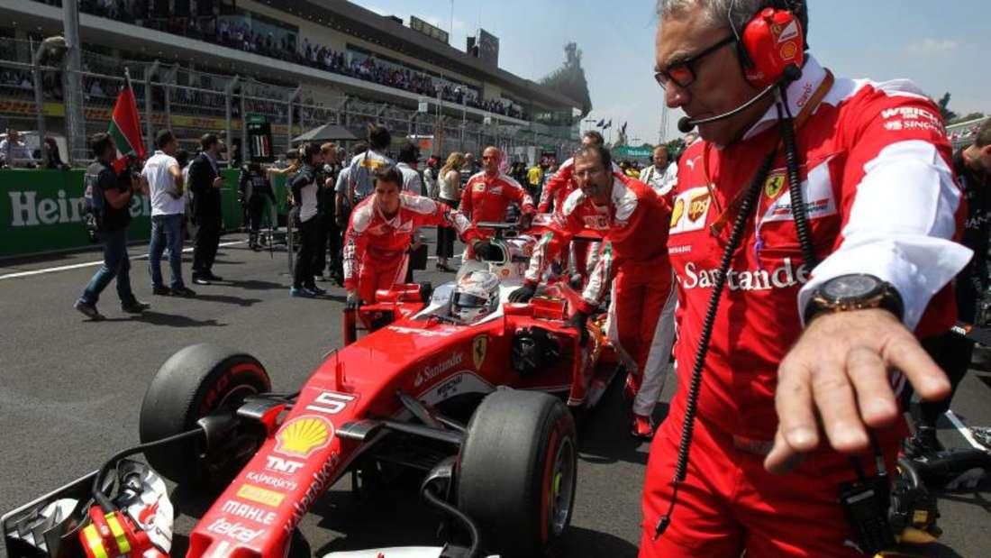 Ferrari-Star Sebastian Vettel wird beim GP in Mexiko-Stadt starten. Foto: Ulises Ruiz Basurto