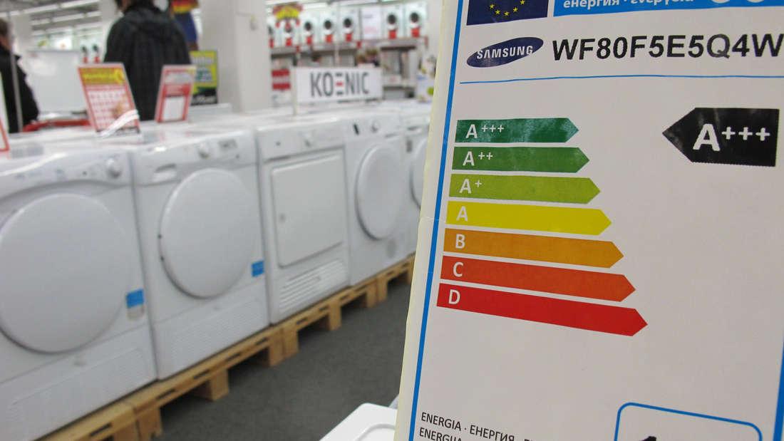 Nicht zuletzt sollten Sie natürlich bei einer neuen Waschmaschine darauf achten, dass sie möglichst gute Energieeffizienzklasse aufweist.