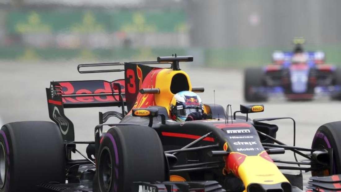 Red Bull firmiert ab der Formel-1-Saison 2018 unter dem Namen Aston Martin Red Bull Racing. Foto: Yong Teck Lim