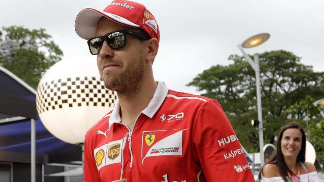 Sebastian Vettel kämpft weiter um den WM-Titel. Foto: Wong Maye-E