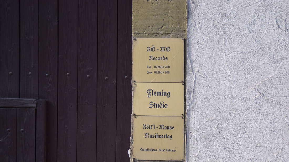 Das Studio von Joy Fleming in Hilsbach