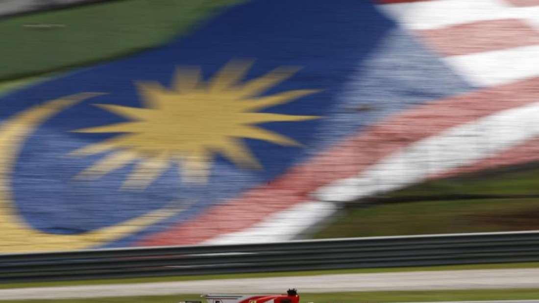 Sebastian Vettel fährt beim Abschlusstraining die zweitschnellste Zeit. Foto: Eric To