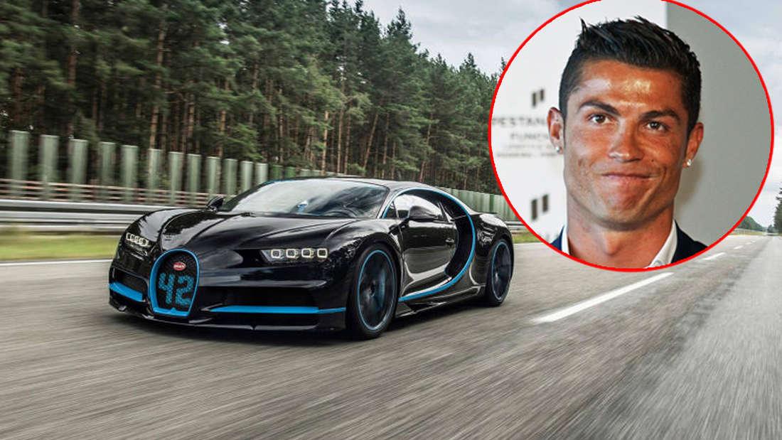 Cristiano Ronaldo hat sich ein neues Auto gekauft.