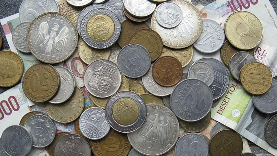 Pesetas, italienische Lire oder Franc: Jedes europäische Land hatte vor dem Euro eine eigene Währung.