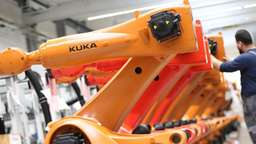Kuka will Roboterproduktion in China verdoppeln