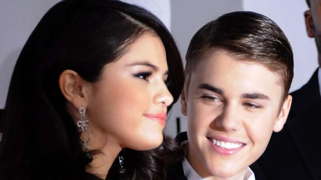Selena Gomez und Justin Bieber 2011 in Los Angeles. Foto: Paul Buck