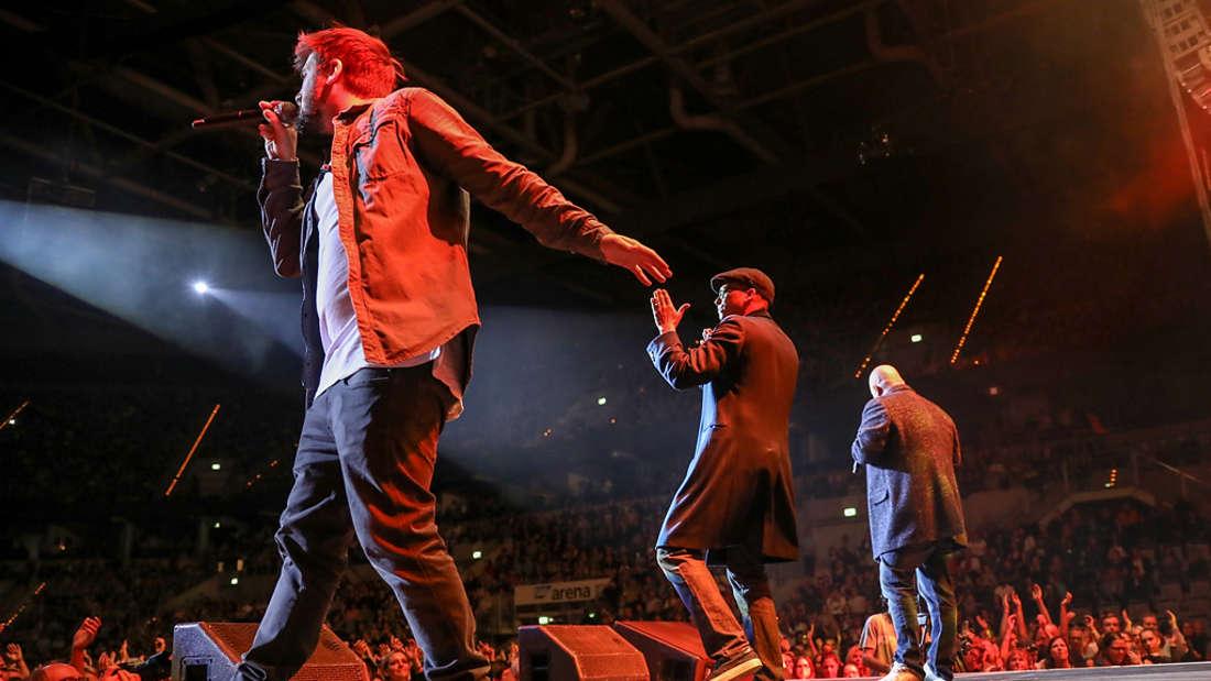 Das Benefiz-Konzert der Söhne Mannheims mit Xavier Naidoo in der SAP Arena.