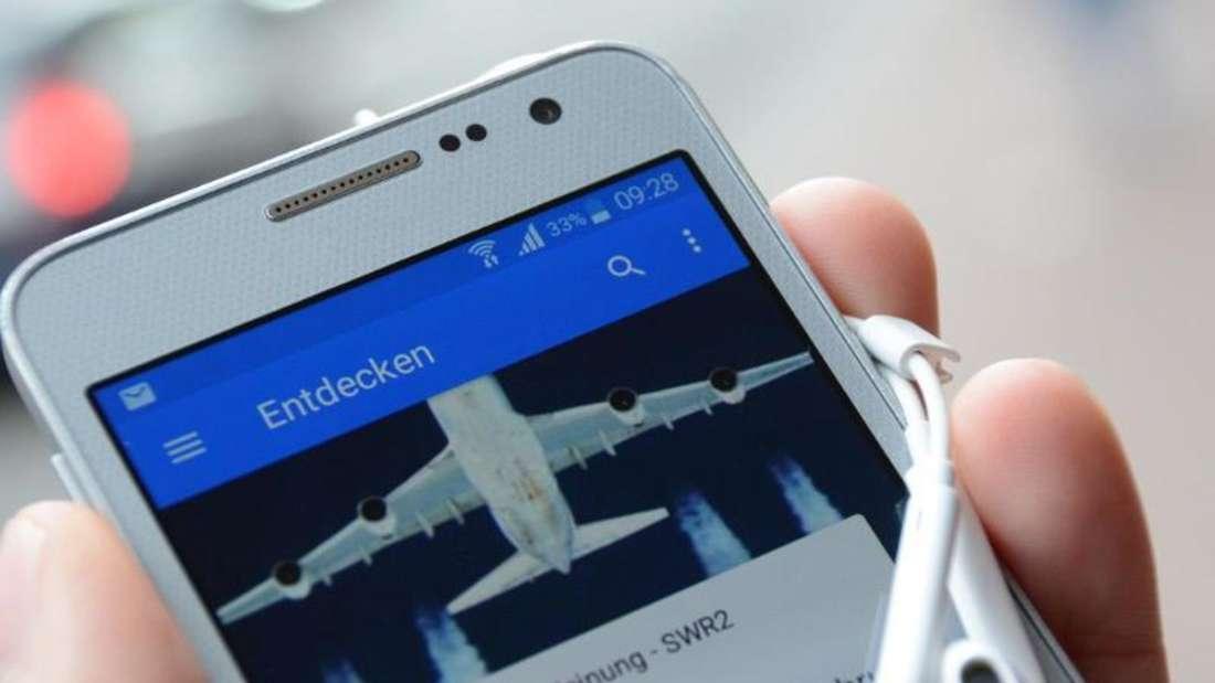 Die Audiothek ist eine App für Radiofans. Foto: SWR/ARD.de/dpa