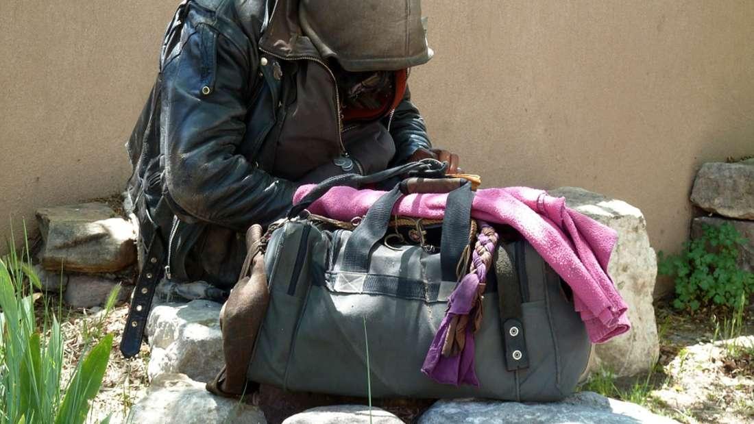 Immer mehr Menschen in Deutschland werden obdachlos.