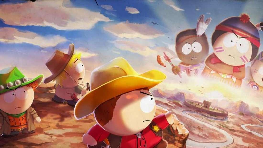 Als Cowboy an der Seite von Cartman kämpfen - das macht gerade vielen Spaß. Foto: Ubisoft/dpa