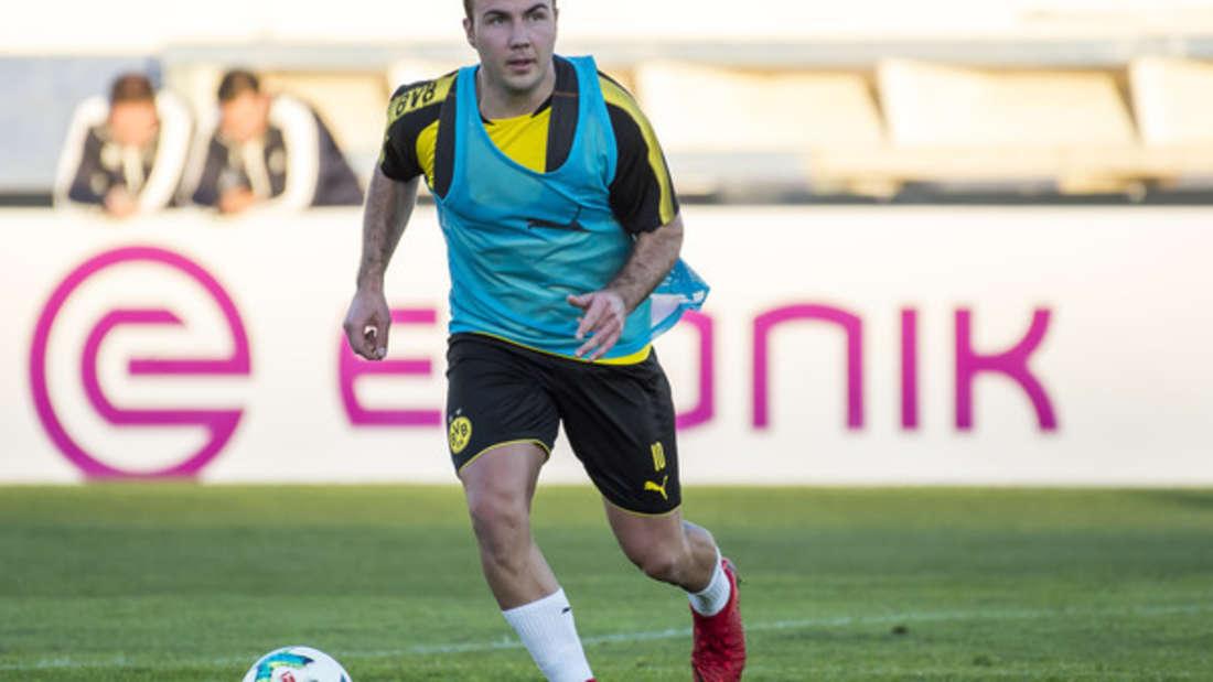 Platz 6: Mario Götze hat allen Grund zum Freuen: Der Mittelfeldspieler hat es mit seinem geschätzten Vermögen von 25 Millionen Euro auf den vorletzten Platz im Ranking geschafft.