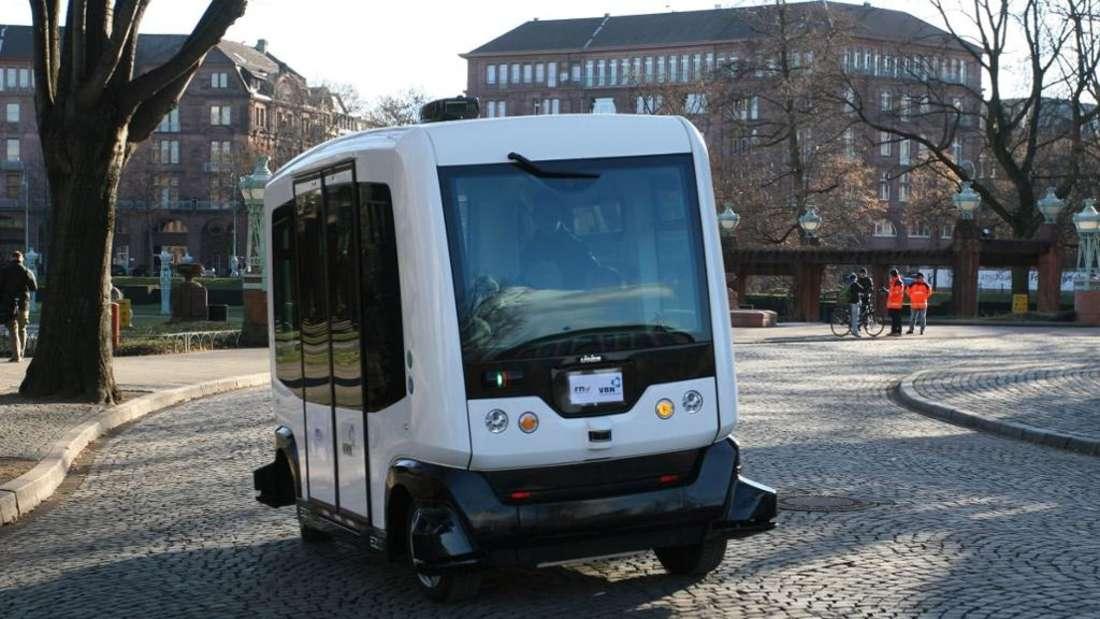 Beispiel eines autonomen Buses (Archivfoto)