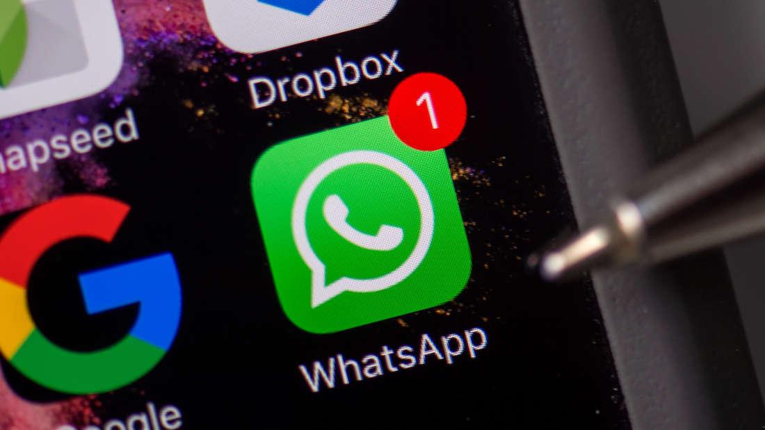 Der Messenger-Dienst WhatsApp hat am Donnerstagabend eine Störung.
