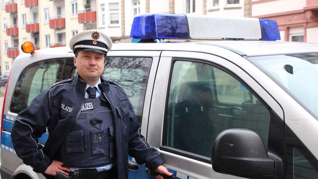 """Komparse Andreas Büchs (43) in seinem inzwischen 6. LU-""""Tatort""""."""