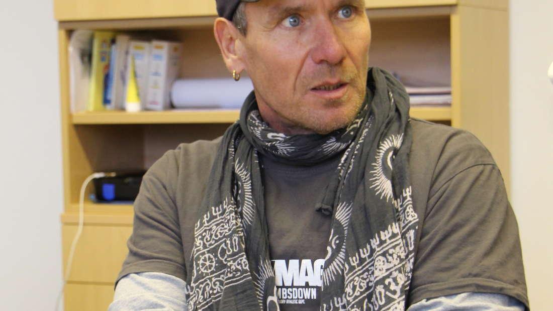"""Regisseur und Drehbuchautor Tom Bohn dreht seinen insgesamt 17. """"Tatort""""."""
